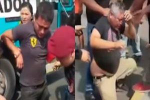 Villa El Salvador: pasajeros capturan a delincuentes que intentaron asaltar el bus
