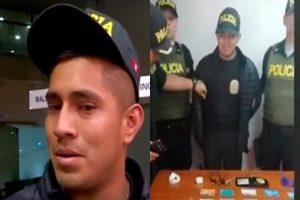 Rímac: capturan a falso policía en las afueras de un banco