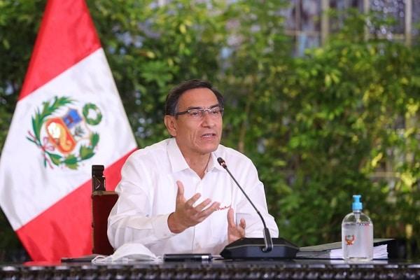 Martín Vizcarra brinda conferencia en día 107 del Estado de Emergencia
