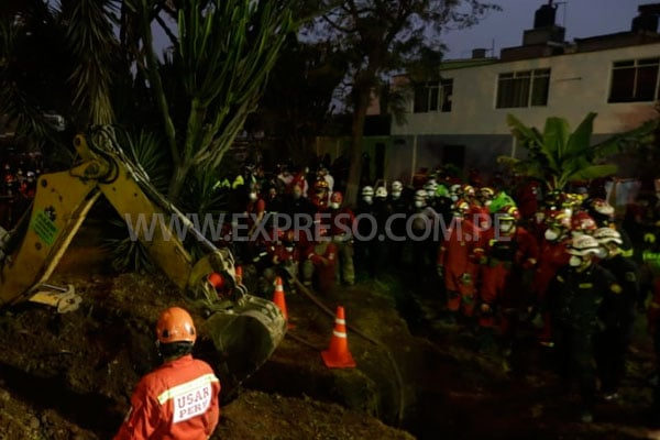 Cercado de Lima: niño de dos años falleció ahogado tras caer a pozo en la avenida Universitaria