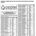 OSIPTEL  08.07.2020