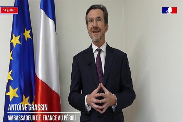 Francia y Perú trabajan juntos en defensa de la Alianza para el Multilateralismo