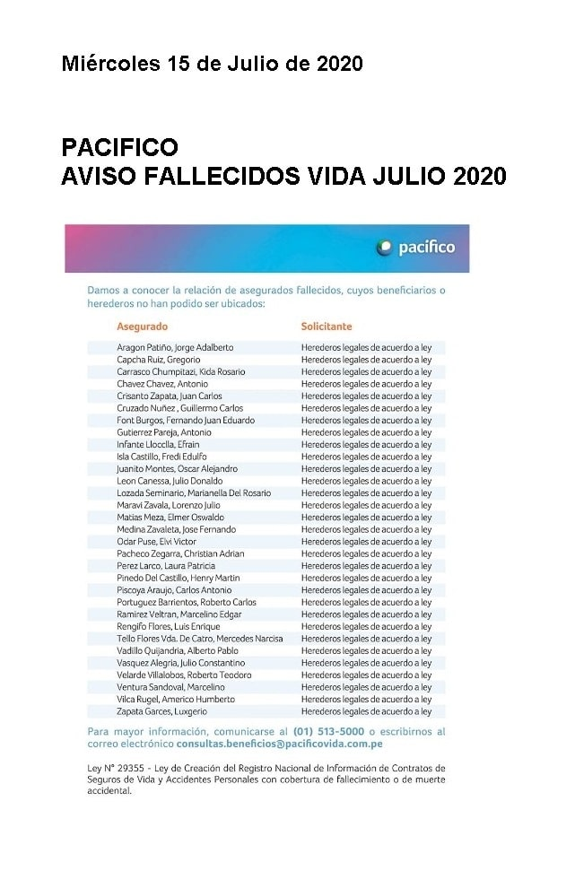 AVISO PACIFICO 15.07.2020