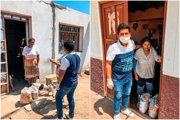 Cañete: recaudan fondos, con ayuda de la Unión de Galleros del Perú, para donar víveres