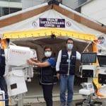 Hospital de Tingo María: entregan 27 balones de oxígeno, 5 ventiladores mecánicos y 2 tiendas de campaña equipadas