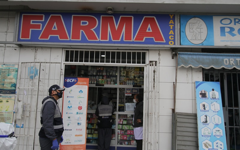 Jesús María: clausuran dos farmacias por incumplir los protocolos de salubridad contra la COVID-19