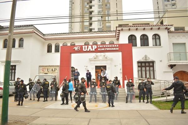 Jesús María: clausuran por segunda vez local de la Universidad Alas Peruanas