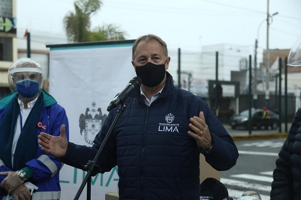 Jorge Muñoz tras mensaje a la Nación de Pedro Castillo: «Me preocupa el tema de los ronderos»