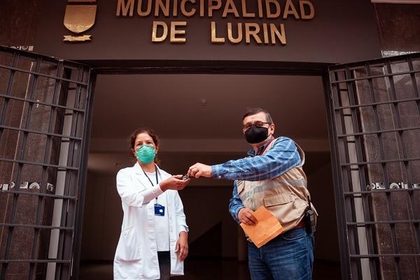 Lurín: entregan local al Centro Materno Infantil para uso exclusivo de partos