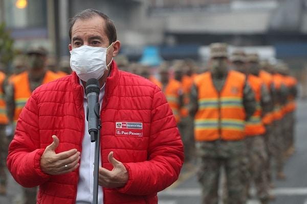 Gobierno evalúa incrementar horario de toque de queda, señala ministro Walter Martos