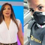Mónica Cabrejos fue asaltada y ahora camina con chaleco antibalas