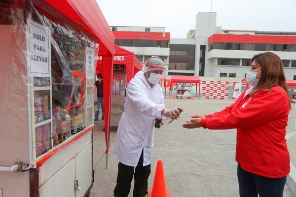 SJM: comerciantes ambulantes formales reactivaron sus actividades