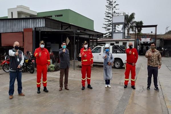 San Isidro: transfieren terreno municipal para nueva Estación de Bomberos del Perú