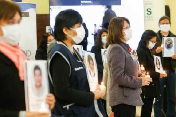 Minsa rinde homenaje al personal de salud fallecido durante la pandemia COVID-19