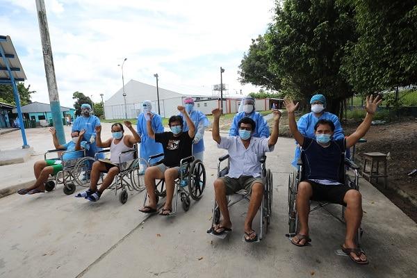 Villa EsSalud Loreto: 170 pacientes adultos y adultos mayores superaron el Covid-19 y fueron dados de alta