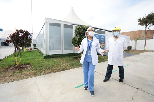 Villa Mongrut realizó más de 1,730 atenciones en 52 días de funcionamiento