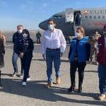 Arequipa: Presidente Martín Vizcarra y Fiorella Molinelli llevan ventiladores de alta gama a la región