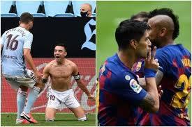 Barcelona empató 2-2 ante el Celta de Vigo y pone en riesgo la punta de la Liga de España