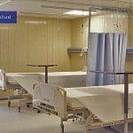 Hospitales de plástico para pacientes COVID-19