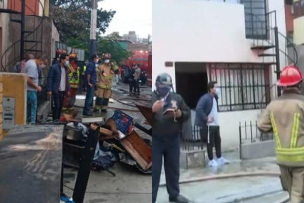 Chorrillos: anciano de 88 años falleció tras incendio de su vivienda