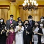 Kenji y Erika se casaron en Miraflores