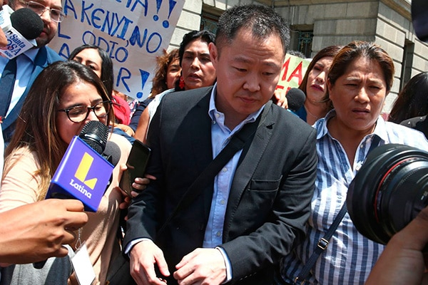 Kenji Fujimori: el 21 de julio se reanuda la audiencia de control de acusación por caso 'Mamanivideos'