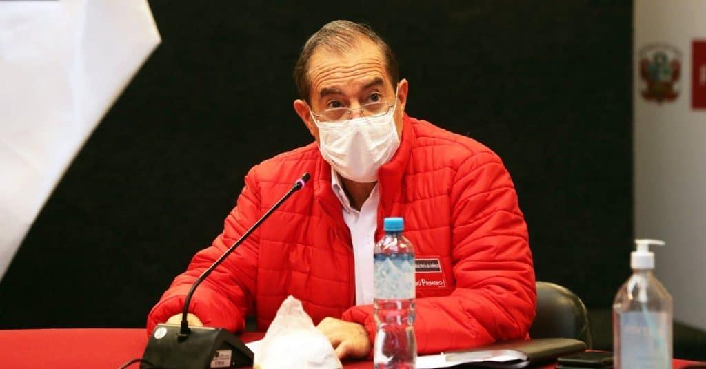 Walter Martos: Todavía no se ha tomado una decisión sobre mantener o no el toque de queda