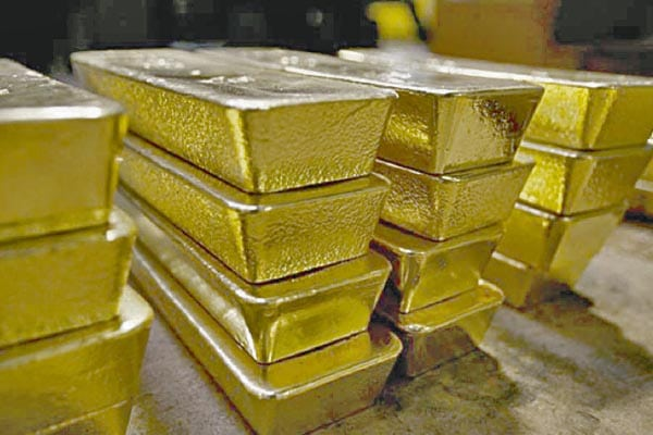Solo el oro seguía estable ayer en el mercado global