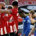 Chelsea cayó 3-0 ante el Sheffield United y complica su puesto en Champions League