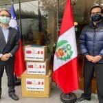Gobierno de Taiwán dona material de salud a hospitales y postas médicas