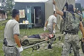 Ataque terrorista deja tres soldados heridos
