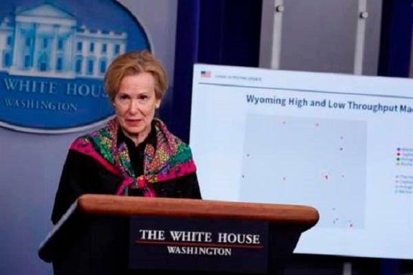 Experta de la Casa Blanca dice que el COVID-19 en EE.UU. golpea zonas urbanas y rurales