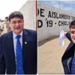 Denuncian que prohibieron a congresista Jorge Luis Pérez fiscalizar hospital itinerante en Chiclayo