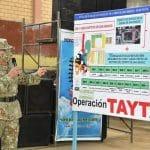 Cajamarca: Ejército del Perú organiza la Operación TAYTA en la provincia de San Ignacio