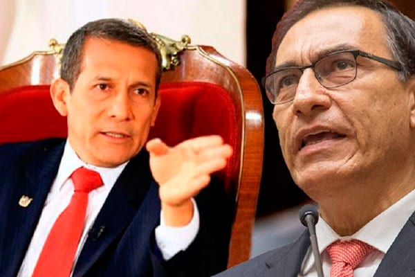 Humala a Vizcarra: Puede activar el Consejo de Defensa Nacional para tomar decisiones