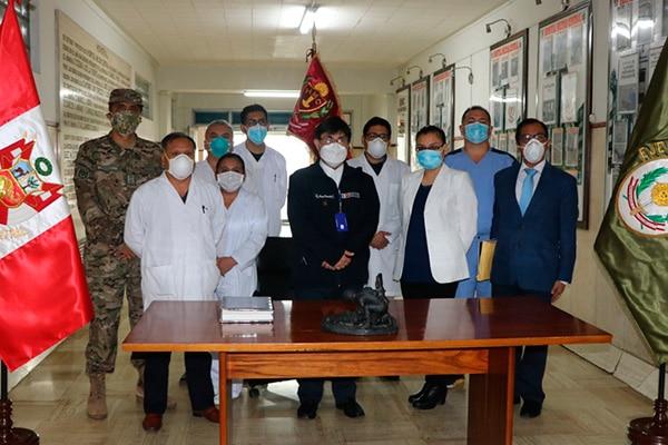 INS faculta al Hospital Militar Central realizar la detección molecular del coronavirus