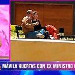 ¿Nació el romance? Periodista Mávila Huertas es captada junto al exministro Luis Miguel Castilla [VIDEO]