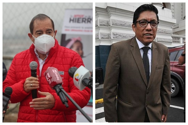 Walter Martos aseguró que «no habría ningún problema» en que Vicente Zeballos asuma como embajador