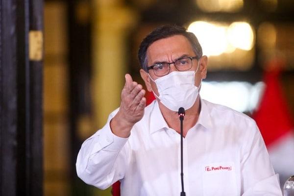 Martín Vizcarra anuncia que conformará «un nuevo gabinete»