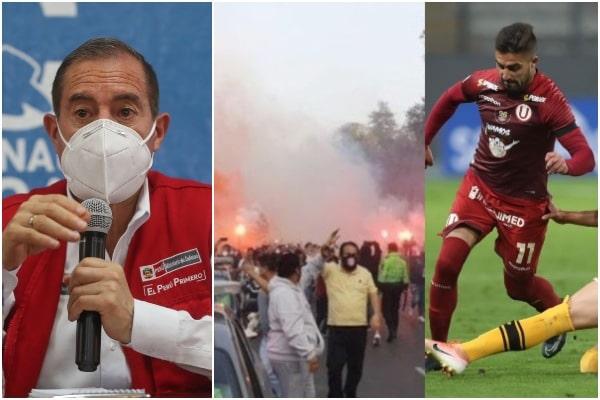 Liga 1 queda suspendida de manera indefinida hasta que la FPF garantice los protocolos, anunció Walter Martos