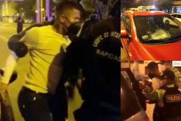 Ray Sandoval: jugador de Sporting Cristal, en estado de ebriedad, fue detenido tras chocar auto [VIDEO]