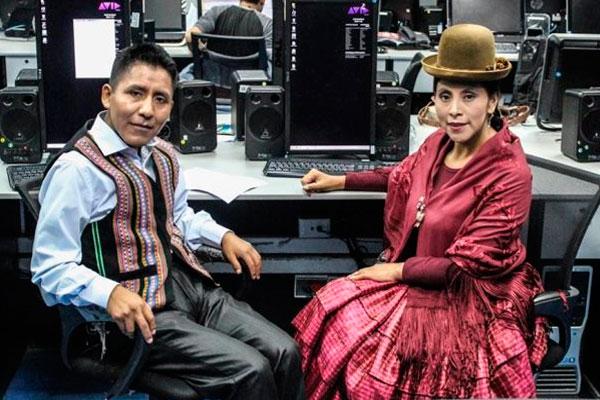 Reclaman por noticieros en aimara y quechua