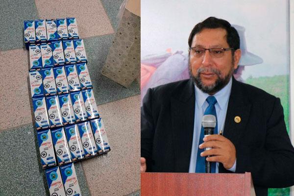 Apurímac: Fiscalía incautó 22 frascos de ivermectina en casa de gobernador