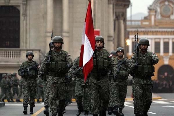 Los 199 años de creación del Ejército Peruano