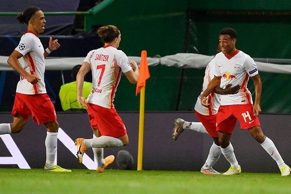 ¡Batacazo! RB Leipzig venció 2-1 al Atlético de Madrid y lo eliminó de la Champions League