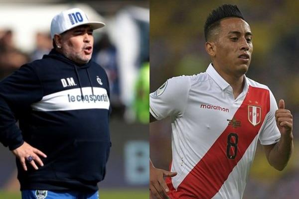Representante de Diego Maradona reveló que el entrenador evalúa fichar a Christian Cueva