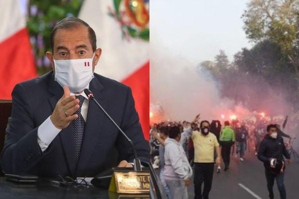 Premier Martos anunció reunirse con la FPF, PNP y barras para definir continuidad del fútbol peruano