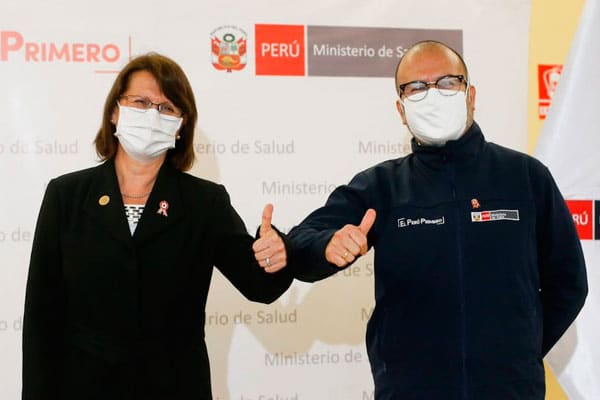 Encaran a la ministra Mazzetti por inacción de exministro Zamora ante donación israelí de oxígeno