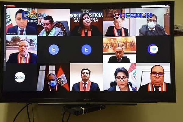 Inauguran expediente judicial electrónico en Cortes Superiores del Callao y Cusco