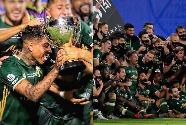 Portland Timbers de Andy Polo se coronó campeón de la MLS is Back